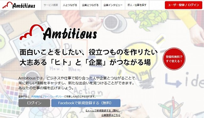 Ambitious まとめ class=