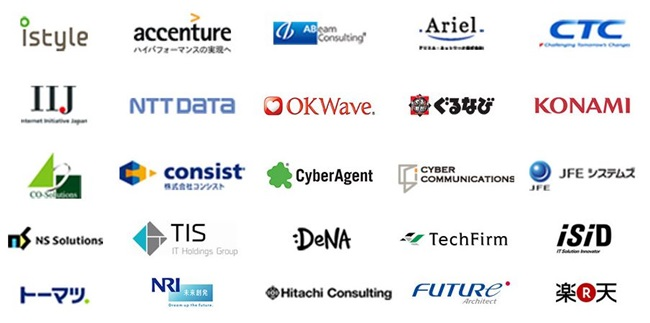 マイナビAGENT IT ご紹介先企業例